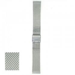 Metalni kaiš - MK72 Srebrni 24mm