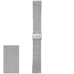 Metalni kaiš - MK68 Srebrni 18mm