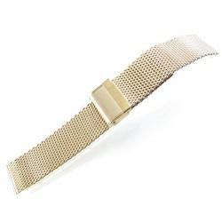 Metalni kaiš - MK75 Zlatni 22mm