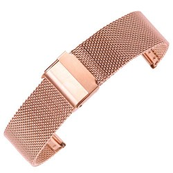 Metalni kaiš - MK81 Rose gold DILOY 18mm
