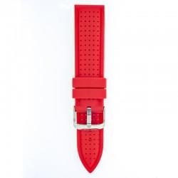 Silikonski kaiš - SK86 Crvena boja 22mm