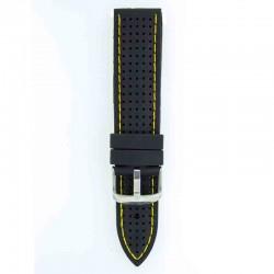 Silikonski kaiš - SK70 Crna boja 22mm