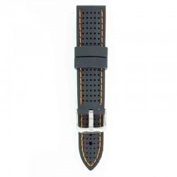 Silikonski kaiš - SK78 Crna boja 20mm