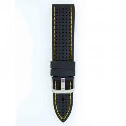 Silikonski kaiš - SK69 Crna boja 20mm