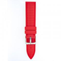 Silikonski kaiš - SK87 Crvena boja 24mm