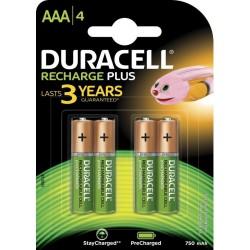 Baterija DURACELL punjiva AAA/4