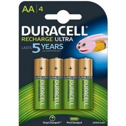Baterija DURACELL punjiva AA/4