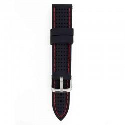 Silikonski kaiš - SK28 Crna boja 22mm