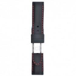 Silikonski kaiš - SK45 Crna boja 24mm