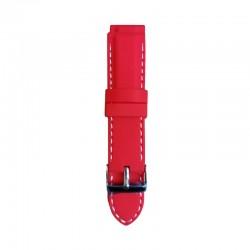 Silikonski kaiš - SK47 Crvena boja 24mm