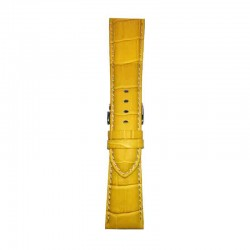 Kožni kaiševi Široki Diloy DIL-EA378.10 Žuta boja