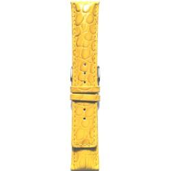 Kožni kaiš 22.62 Žuta boja