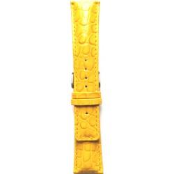 Kožni kaiš 24.53 Žuta boja