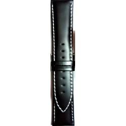 Kožni kaiš 24.82 Crna boja