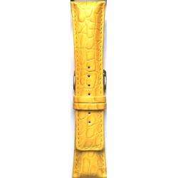 Kožni kaiš 26.22 Žuta boja