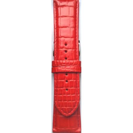 Kožni kaiš 26.18 Crvena boja