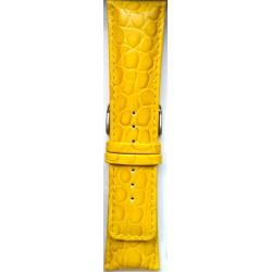 Kožni kaiš 28.14 Žuta boja