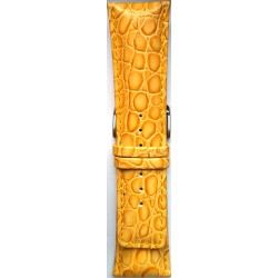 Kožni kaiš 28.13 Žuta boja