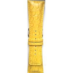 Kožni kaiš 30.18 Žuta boja