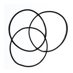 Set dihtunga - flat ring (pljosnati) 90 komada