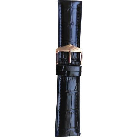 Silikonski kaiš - SK3 Crna boja 20mm (Silikonski/Kožni)