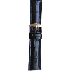 Silikonski kaiš - SK26 Crna boja 22mm (Silikonski/Kožni)