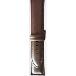 Kožni kaiš 24mm (Eko koža) Tamno Braon boja 24.35