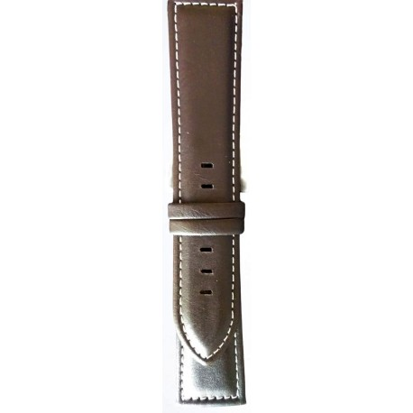 Kožni kaiš 24mm (Eko koža) Tamno Braon boja 24.36