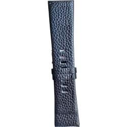Kožni kaiš 28mm Crna boja 28.36