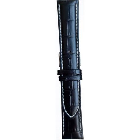 Kožni kaiš 26mm Crna boja 26.38