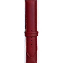 Kožni kaiš Diloy DIL302.4 Tamno crvena boja