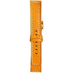 Kožni kaiš Diloy DIL362.12 Narandžasta boja