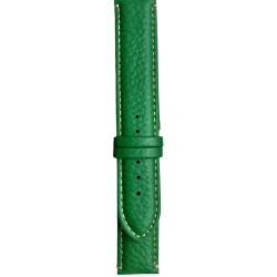 Kožni kaiš Diloy DIL206.11 Zelena boja