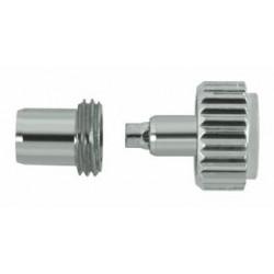 Horotec -čelična krunica sa tubom Ø 4.75 / ØM 3.50 / ØT 2.50 / ØTAP. 0.90 mm