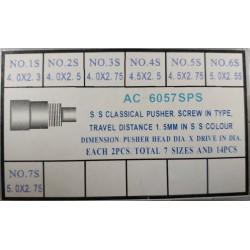 Set drukera srebrnih 14 komada