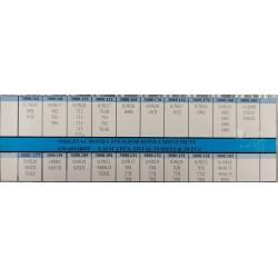 Set ključeva za ronda mehanizme 38 komada