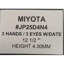 Ključ za MIYOTA JP25D4N4