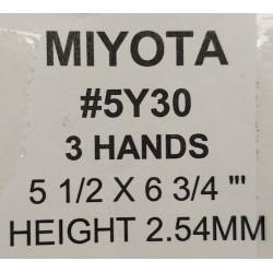 Ključ za MIYOTA 5Y30