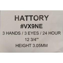 Ključ za HATTORY VX9NE