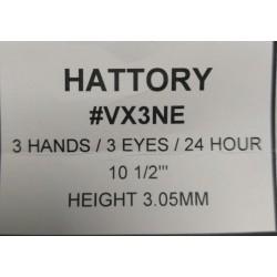 Ključ za HATTORY VX3NE
