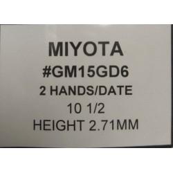 Ključ za HATTORY GM15GD6