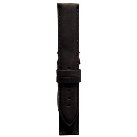 Kožni kaiš 20.167 Crna boja 20mm