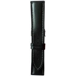 Silikonski kaiš - SK86 (Silikonski/Kožni) Crna boja 24mm