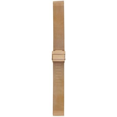 Metalni kaiš - MK17 Rose gold 16mm