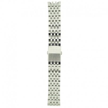 Metalni kaiš - MK24 Srebrni 18mm