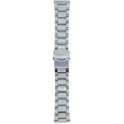 Metalni kaiš - MK91 Srebrni 24mm