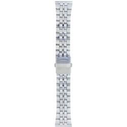 Metalni kaiš - MK92 Srebrni 24mm