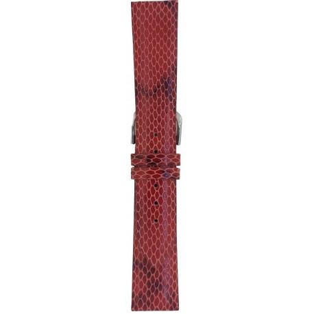 Kožni kaiš 20mm Crvena boja 20.252