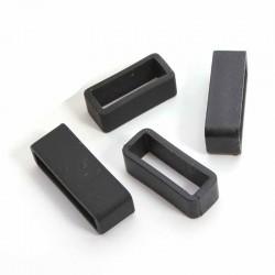 Set crnih silikonskih gajki 25 komada