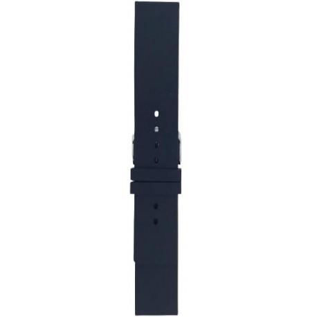 Silikonski kaiš - SK97 Crna boja 16mm